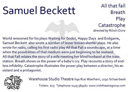 Four Plays by Samuel Beckett