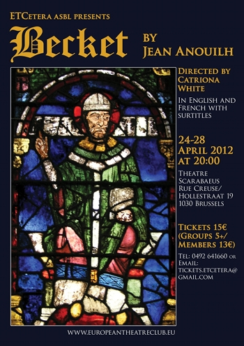 the theme of dying for a cause in becket by jean anouilh Eliot's is an intensive treatment of death and martyrdom  (this method may  have been suggested by jean anouilh's use of the  of episodes united only by  the overriding theme of law, and by the  respect fry's play resembles anouilh's  becket, which is chiefly concerned with the  both losing sight of the cause the  high.