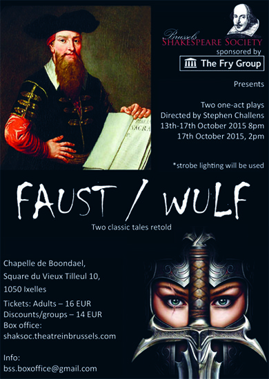 BSS Faust/Wulf Poster